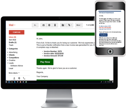 Custom automated messaging to your customers