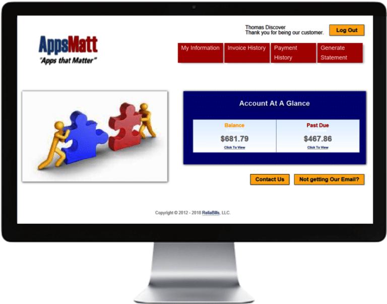 Customer self-service portal reflects your branding