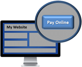 ReliaBills has online payment options that can be embed to your website