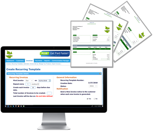 Recurring invoices are a breeze with ReliaBills