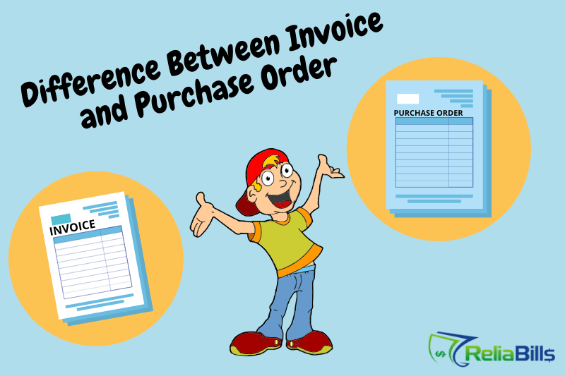 Difference between Invoice and Purchase Order