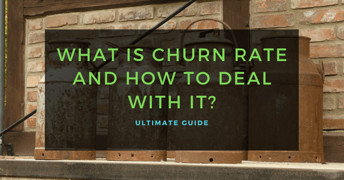 What is Churn Rate and How To Deal with It Ultimate Guide