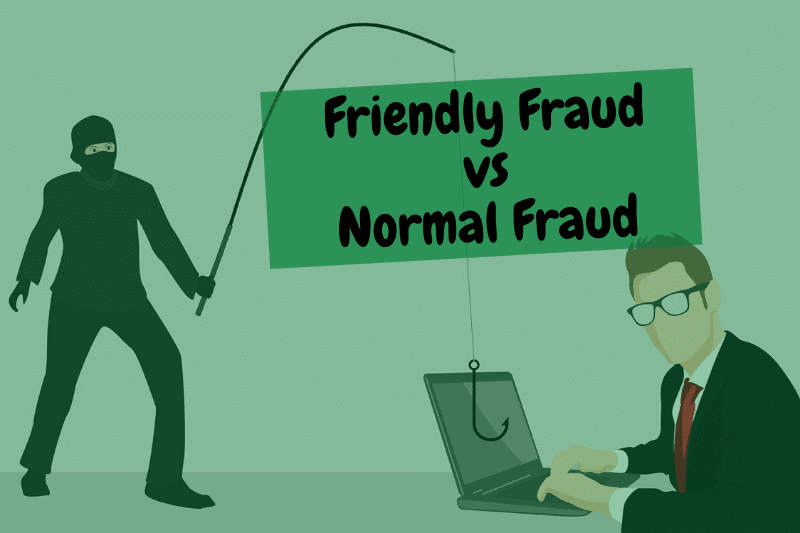 Difference between Friendly Fraud and Normal Fraud