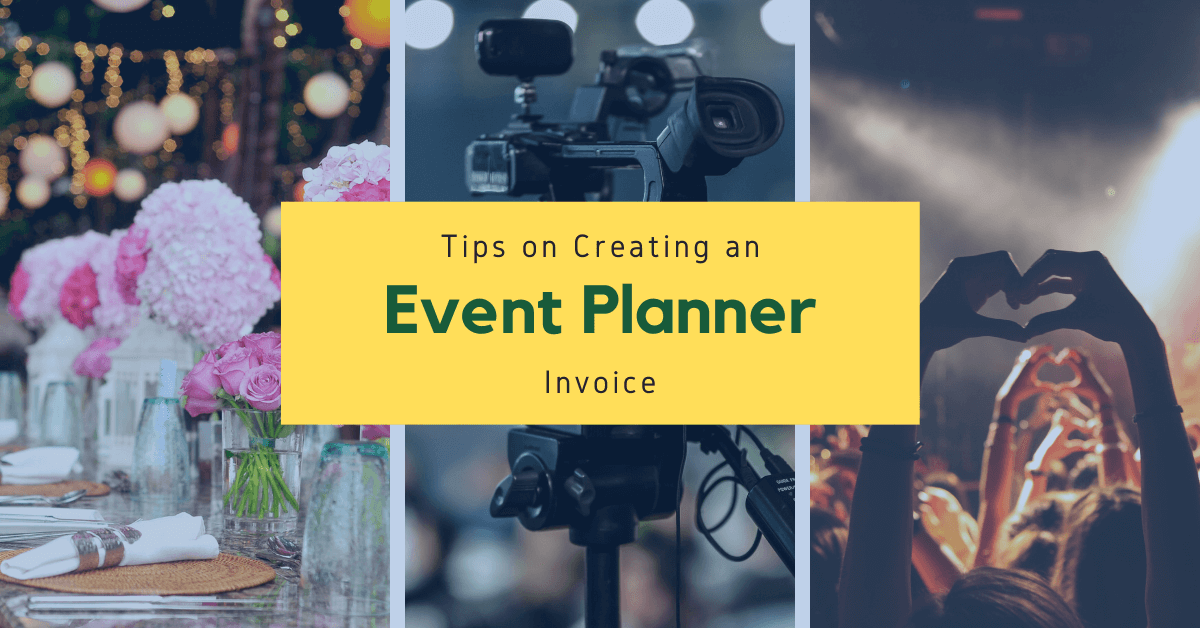Tips on Creating an Event Planner Invoice