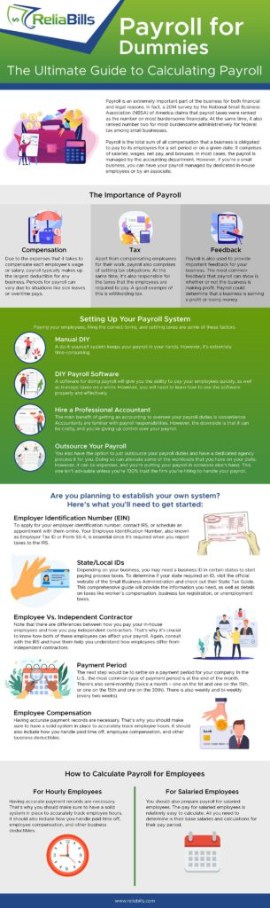 Payroll for Dummies Infographic